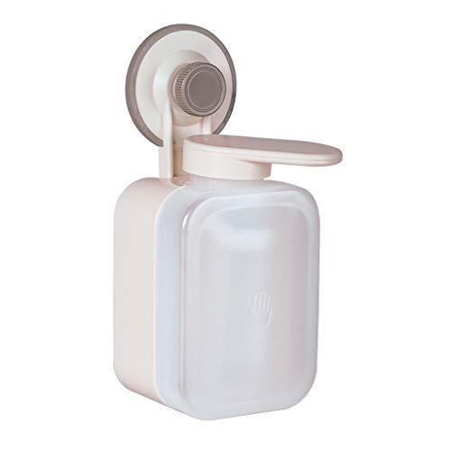 Dispensador de jabón de baño Dispensador de la loción Punch-plástico libre de montaje en pared loción Dispensadores Press-On champú gel de ducha loción Dispensadores Dispensadores de baño Dispensador
