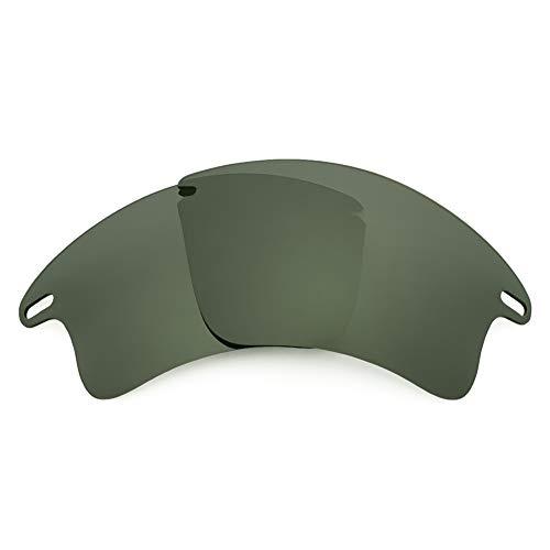 Revant Lentes de Repuesto Compatibles con Gafas de Sol Oakley Fast Jacket XL, No Polarizados, Gris Verde
