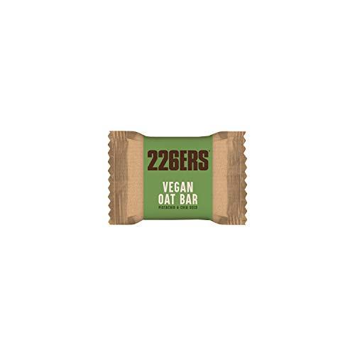 226ERS Vegan Oat Bar, Barritas de Avena Sin Gluten, Pistacho & Chia - 24 barras x 50 gr