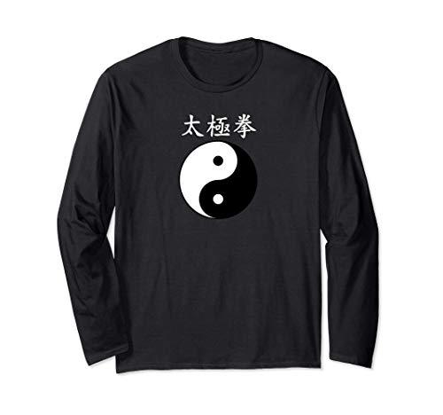 Tai Chi Chuan Yin Yang Harmonie Cadeau d'équilibre naturel Manche Longue