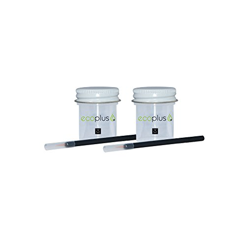 Touch Up Paint Ecoplus+ Color & Clear-coat Chip Scratch Repair Kit - Mercedes-Benz S Class 723 Pewter Metallic