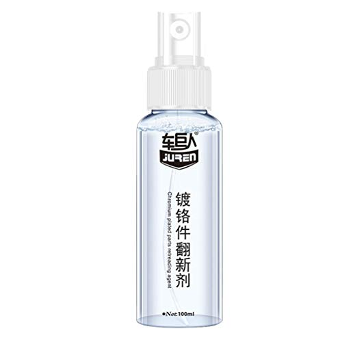 Rust Remover Anti-Rust Lubricant, Professional Rust Repair Metal Surface Chrome Paint Car Maintenance Iron Powder Cleaning Rust Remover, Polishing Coating Metal Surface (100ml)