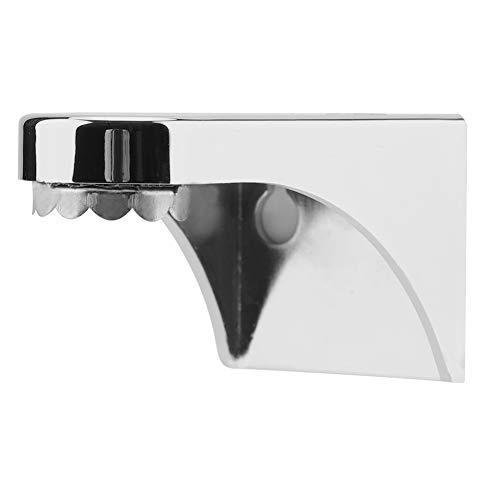 Magnetische zeephouder ABS lijm muur gemonteerd opknoping zeep schaal voor wastafel badkamer zilver