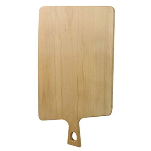 Pizza Board Met Handvat Bakken Dienblad Pizza Bakplaat Snijplank Pizza Pan Tray Houten Rechthoekige Pizza Plate (Size : 24 * 42cm)