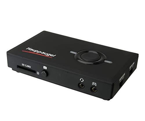 Hauppauge HD PVR Pro 60 - 01685 HDMI Game Capture Aufnehmen Stand-Alone auf SD-Karte oder PC (Streamen in HD 1080p60 4k Pass-Through, H.264 Hardware-Encoder) für XBoxOne X, PS4 Pro