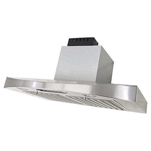 KOBE Range Hoods RA3830SQB-5 Under Cabinet Range Hood, 30-Inch, Stainless steel