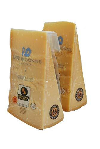 Confezione Risparmio 2 Pezzi 1 Kg Parmigiano Reggiano 36 mesi