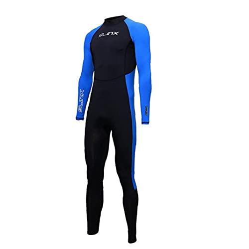 Eaarliyam Hombres Mujeres Traje de una Pieza de baño de Secado rápido de Cuerpo Completo de Buceo Traje Impermeable de protección UV de Manga Larga para los Accesorios de Surf natación al Aire Libre