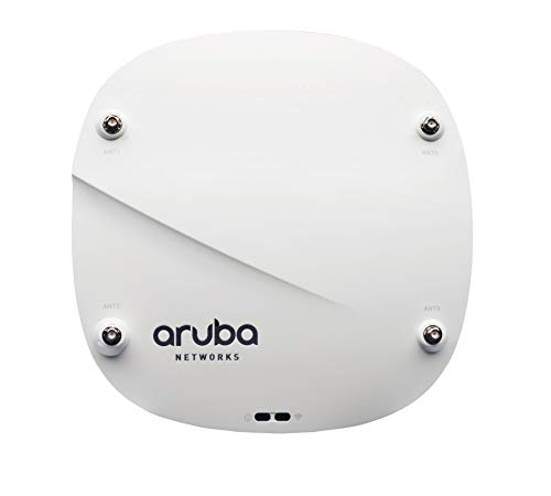 HPE ARUBA JW795A AP-314 - Dualband 2,4 GHz (bis zu 300 Mbit / s) / 5 GHz (bis zu 1733 Mbit / s), Wireless 802.11ac, MU-MIMO, Bluetooth, 2x2 / 4x4, Controller-verwalteter Wireless Access Point