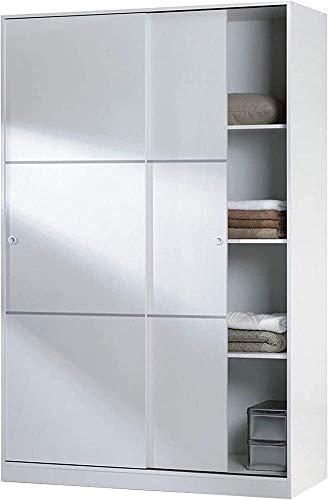 Armadio, ripostiglio, ante scorrevoli porta armadio scorrevole per la camera da letto, soggiorno di ingresso,White