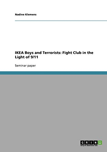 IKEA Boys and Terrorists: Fight Club in the Light of 9/11