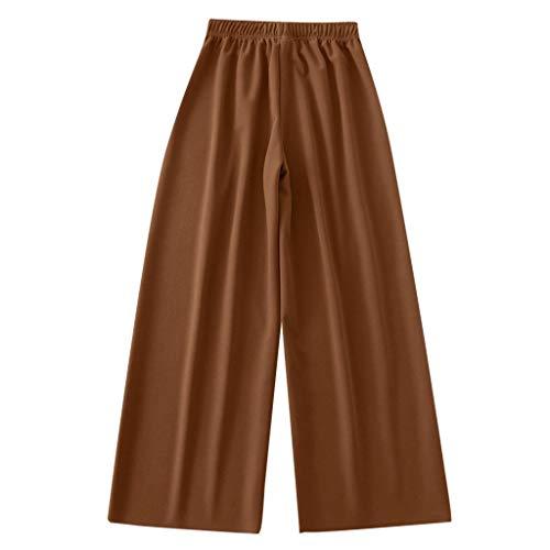 Luckycat Pantalones Anchos para Mujer Otoño Invierno 2019 Moda Casual Pantalones Marlene...
