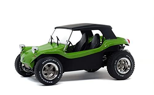 Solido SL1802703 Manx Meyers Buggy Soft ROOF 1968 Green 1:18 MODELLINO DIE CAST kompatibel mit