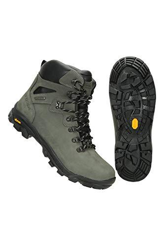 Mountain Warehouse Odyssey Extreme Impermeable para Mujer Botas Vibram - Zapatos De Senderismo Duraderos para Mujer, Calzado de Trekking Verde Talla Zapatos Mujer 40 EU