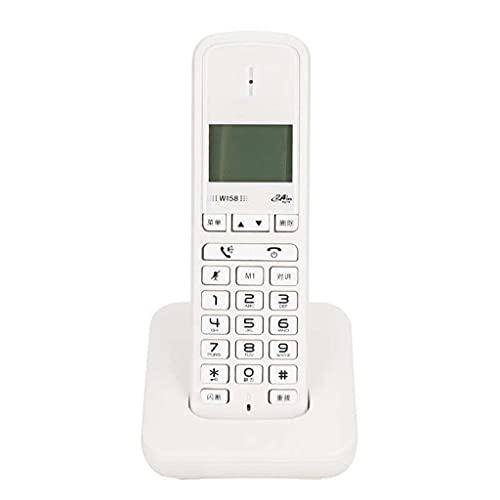 YWSZJ Digital inalámbrico sin Manos Libres de Mano Manos Libres telefón de Llamadas Teléfono inalámbrico Teléfono inalámbrico (Color : A)
