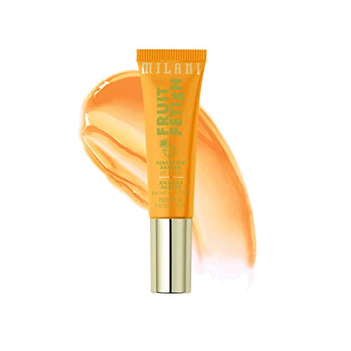 Milani Fruit Fetish Lip Balm - Lip Moisturizer, Deeply Hydrates and Seals in Moisture, Nourishing Lip Care, Available in 6 Fruity Flavors