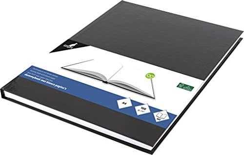 Skizzenbuch Kangaro A4 blanko Hardcover 80 Blatt 100g schwarz