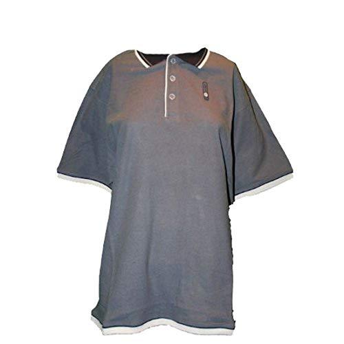 Lotto TLS - Polo para hombre, talla L, color gris oscuro