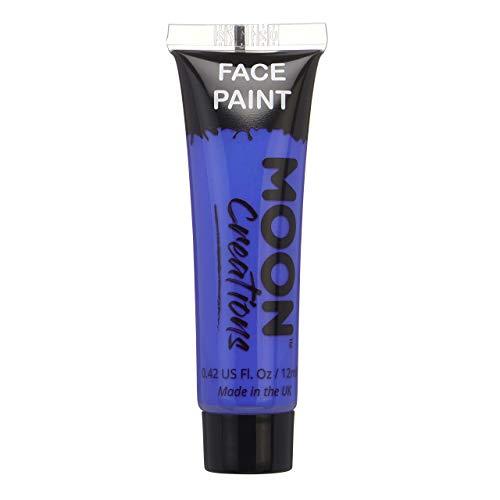 Pintura Corporal Moon Creations - 12ml - Azul Oscuro