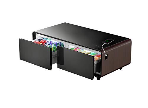 PRIMST Smart Refrigerator Coffee Table, Wood
