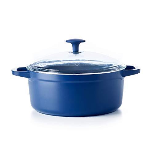 Blue Diamond Cookware Big Batch Ceramic Nonstick Dutch Oven 5QT