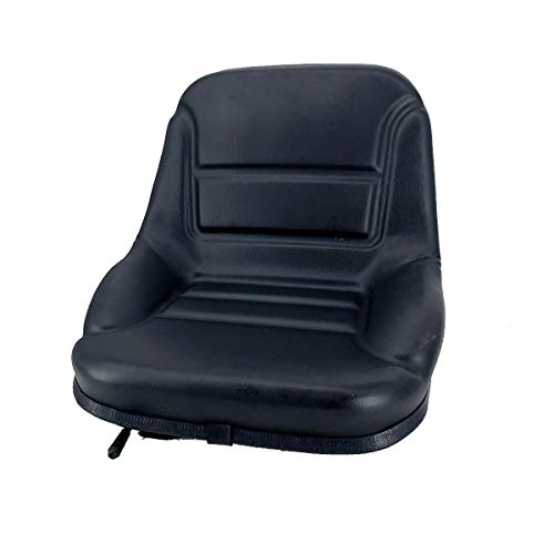 EWANYO PVC Universal Waterproof Black Forklift Seat