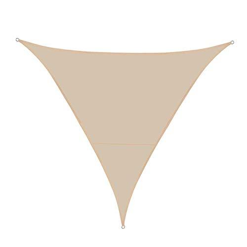 W.Z.H.H.H Shade Sail Tissu Oxford Sun Voile d'ombrage Nets Soleil Abri imperméable Couverture extérieure Auvent Auvent Balcon Patio Jardin Jardin Toile de Soleil (Color : Beige, Size : 30CM)