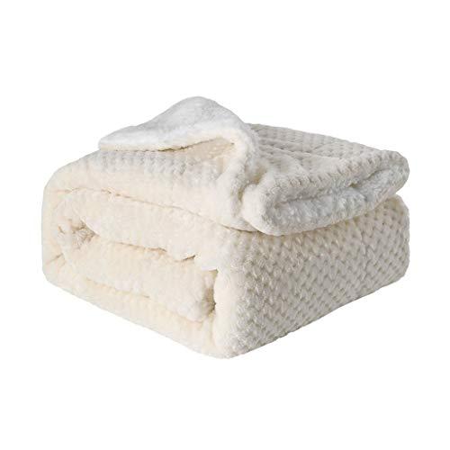 ZODOF manta franela Mantas de Felpa sólid color cálida Suave Manta de Cama de sofá de Tiro Colecciones de Ropa de Cama picnic manta infantil 150 x120cm