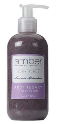 AMBER INSPIRING SPA EXPERIENCES Scrub Fixed price for Omaha Mall sale Body Lavender Aphrodisia
