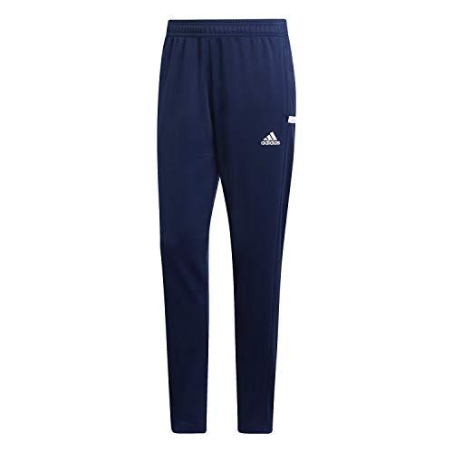 adidas Damen 19 Track Hose Sweat Pants, Team Marine-Blau/Weiß, L