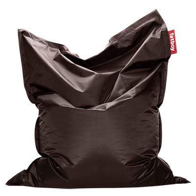 Fatboy® Original Sitzsack Brown | Klassische Indoor Beanbag, Sitzkissen in Braun | 180 x 140 cm