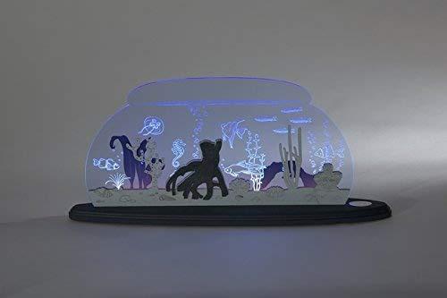 Motieflamp Wo ist Nemo lengte ca 47 cm NIEUW boog lichtboog LED Ertsgebergte Seiffen glas plexiglas oceaan zee diepzee vissen clownvis haai aquarium schelpen koraal