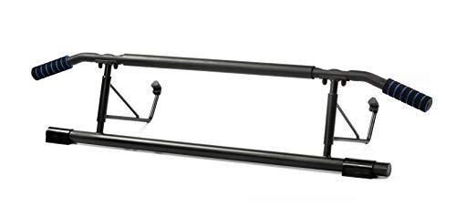 BODYCOACH Multi-Türreck Pull-Up-Bar 3in1 universal Trainingsgerät Klimmzugstange Oberkörpertrainer Liegestützhilfe