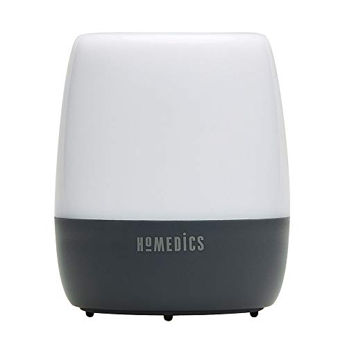 White Noise Sound Machine   Baby, Adults, Kids Sleep Machine   Portable Travel-Size   6 Soothing Relaxing Nature Sounds   HoMedics Traveler Soundspa