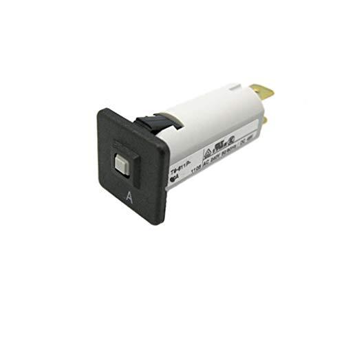 Interruptor de circuito 12A 6,3 mm contactos 34 x 19 x 19 mm 4404.0005 Schurter