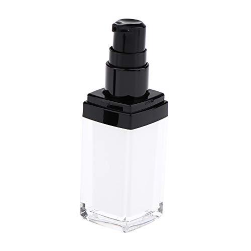 B Baosity Bouteille de Voyage en Acrylique de Cosmétiques Rechargeable de Parfum Lotion Crème Huiles Essentielles Flacon de Crèmes - 15ml