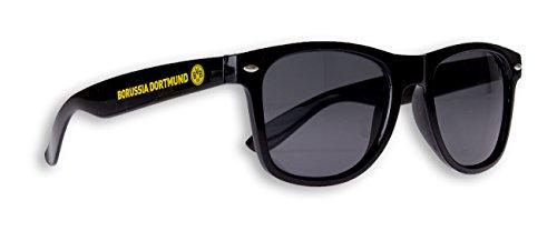 Blueprint Cologne Borussia Dortmund Sonnenbrille BVB Fanbrille Verschiedene Varianten (Schwarz)
