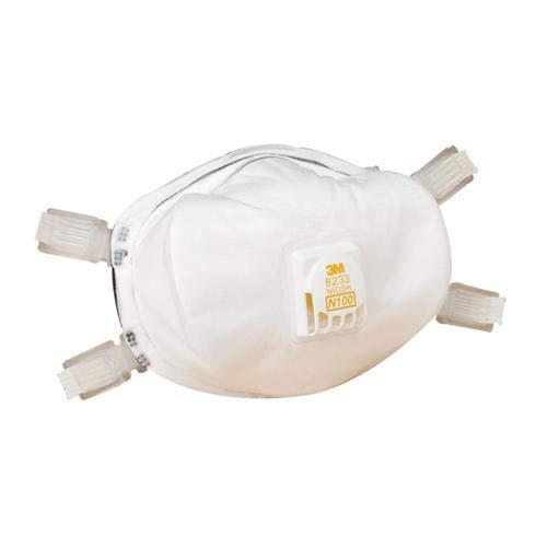 3M Safety 142-8233, Respirator, Dust/Mite, 1 per Each