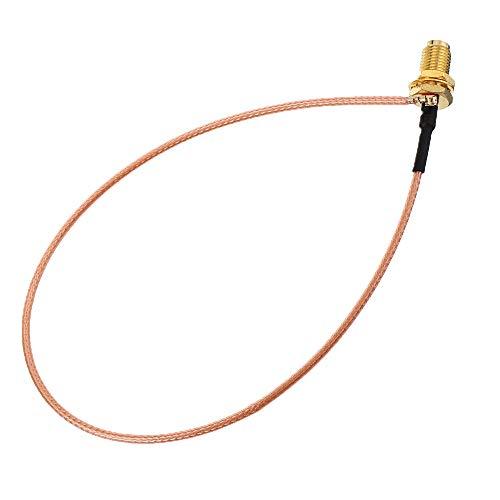 5 0CM Rallonge électrique U. FL IPX à RP- SMA Antenne de connecteur femelle RF Jumper à fil de câble de la cochon pour PCI Carte wifi RP- SMA Jack à IPX RG178