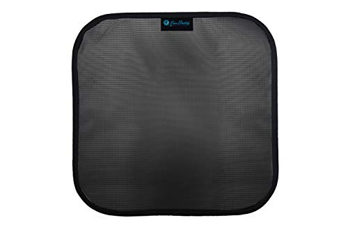 overspray floor fan with filter - 2