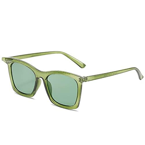 ShSnnwrl Gafas Sol De Hombre Mujer Polarizadas Sunglasses Gafas De Sol De Moda para Mujer Diseñador De Marca De Lujo Gafas De Sol Verdes R