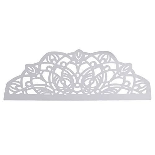 EXCEART Troqueles de Metal Plantillas de Plantillas de Troqueles de Invitación de Boda para Álbum de Fotos de Álbum de Recortes Diy Molde de Tarjeta de Papel en Relieve (Patrón de Flores)