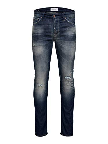 ONLY & SONS NOS Herren ONSLOOM Dark WASH DCC 3616 NOOS Jeans, Blau (Blue Denim Blue Denim), 31W / 32L