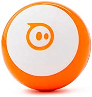 Sphero Mini App-Enabled Programmable Robot Ball - STEM Educational Toy for Kids Ages 8 & Up - Drive, Game & Code with Sphero Play & Edu App (Orange)