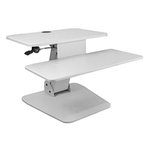 NEG Computertisch ExtenDesk 003W (60,0cm breit) Sitz-/Steh-Arbeitsplatz weiß