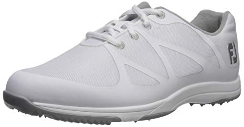 FootJoy Women's Leisure Golf Shoes White 8 W US