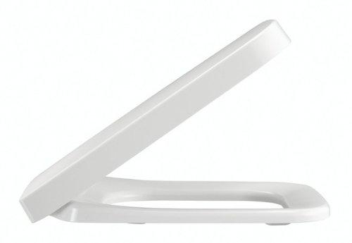 Pressalit 780000-D98999 WC-Sitz Plan m.Deckel Weiß