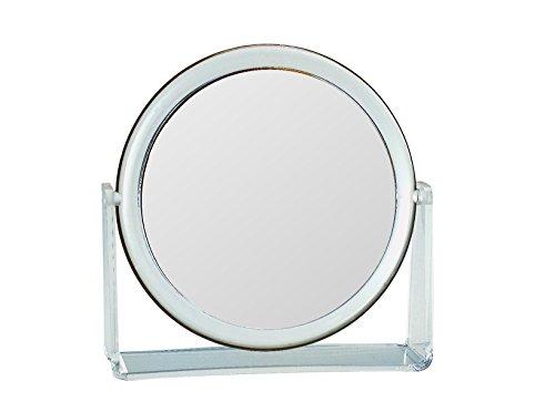 Gerson Miroir Transparent sur Support Grossissant x 7 Diamètre 17 cm Haut 18 cm