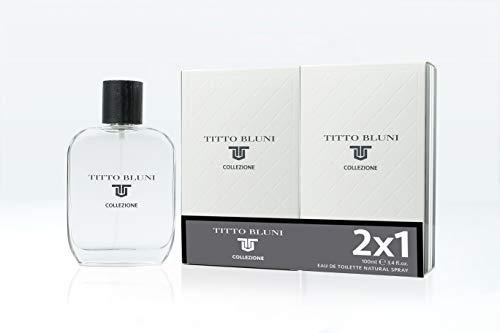 Titto Bluni Perfume Titto Bluni Colonia 100 Vapo (2X1) Collezione Q-6-1 unidad