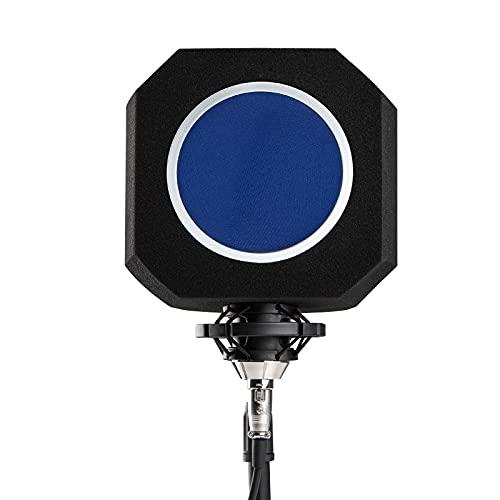 Parabrezza Isolante per Mic Professionale, Sound Shield per Microfono, Filtro Acustico per Microfono da Studio, La Schiuma Fonoassorbente Riduce il Rumore